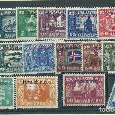 Briefmarken - Islandia - Servicio Yvert 44/58A * Mh - 159545466