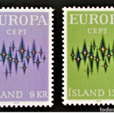 Sellos: SELLOS USADOS DE ISLANDIA, YT 414/ 15. Lote 165254954
