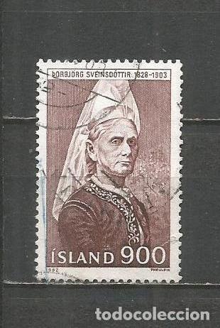 ISLANDIA YVERT NUM. 538 USADO (Sellos - Extranjero - Europa - Islandia)