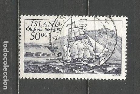 ISLANDIA YVERT NUM. 616 USADO (Sellos - Extranjero - Europa - Islandia)