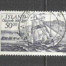 Sellos: ISLANDIA YVERT NUM. 616 USADO. Lote 169172312