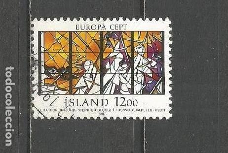 ISLANDIA YVERT NUM. 618 USADO (Sellos - Extranjero - Europa - Islandia)