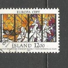 Sellos: ISLANDIA YVERT NUM. 618 USADO. Lote 169172356