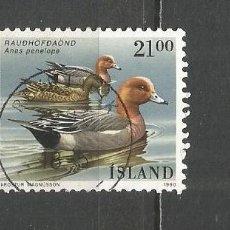Sellos: ISLANDIA YVERT NUM. 675 USADO. Lote 169172476