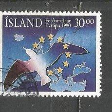 Sellos: ISLANDIA YVERT NUM. 683 USADO. Lote 169172492