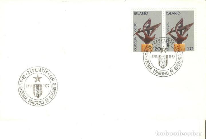SOBRES ISLANDIA (Sellos - Extranjero - Europa - Islandia)