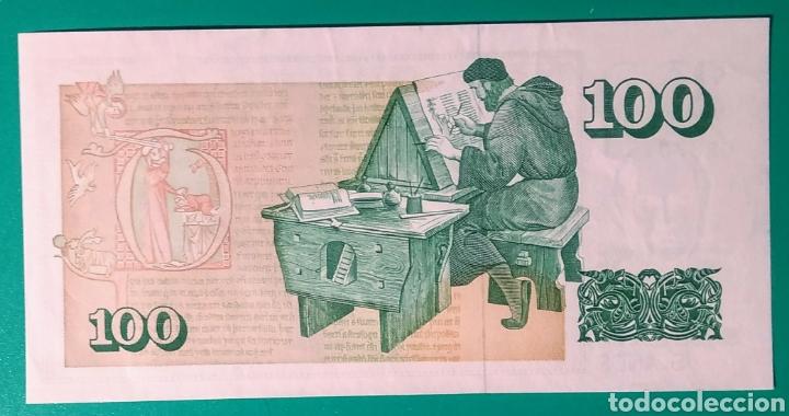Sellos: Islandia 1986. Billete 100 Krónur. EBC**. - Foto 2 - 171232648