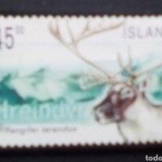 Sellos: ISLANDIA RENOS SELLO USADO. Lote 171523004