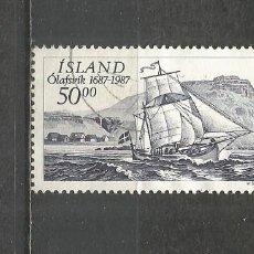 Sellos: ISLANDIA YVERT NUM. 616 USADO. Lote 177556738