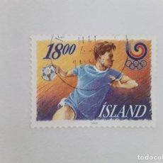 Sellos: ISLANDIA SELLO USADO . Lote 182143890