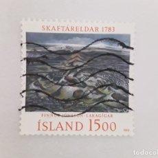 Sellos: ISLANDIA SELLO USADO . Lote 182143958