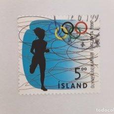 Sellos: ISLANDIA SELLO USADO . Lote 182143978