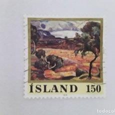 Sellos: ISLANDIA SELLO USADO . Lote 182143990
