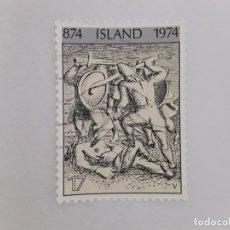 Sellos: ISLANDIA SELLO USADO . Lote 182144083