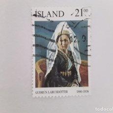Sellos: ISLANDIA SELLO USADO . Lote 182144102