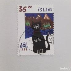 Sellos: ISLANDIA SELLO USADO . Lote 182144203