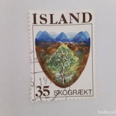 Sellos: ISLANDIA SELLO USADO . Lote 182144241