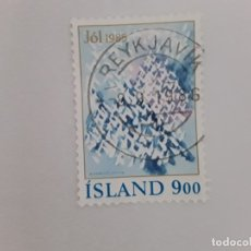 Sellos: ISLANDIA SELLO USADO . Lote 182144267