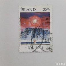 Sellos: ISLANDIA SELLO USADO . Lote 182144428