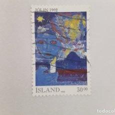 Sellos: ISLANDIA SELLO USADO . Lote 182144445