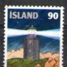 Sellos: SELLO USADO DE ISLANDIA, YT 490. Lote 183368968