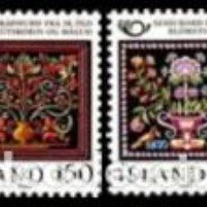 Sellos: SELLOS USADOS DE ISLANDA, YT 509/ 10. Lote 183708161