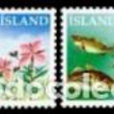 Sellos: SELLOS USADOS DE ISLANDIA, YT 663/ 64. Lote 185954582