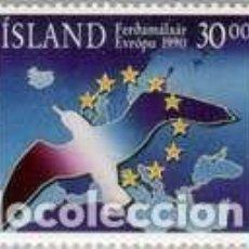 Sellos: SELLO USADO DE ISLANDIA, YT 683. Lote 186179193