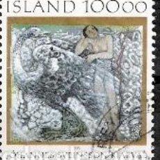 Sellos: SELLO USADO DE ISLANDIA, YT 594. Lote 186179722