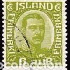 Sellos: SELLO USADO DE ISLANDIA, YT 105. Lote 186215085