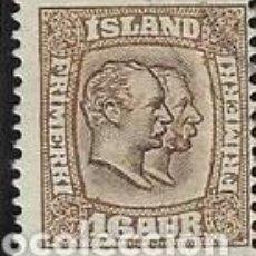 Sellos: SELLO USADO DE ISLANDIA, YT 54, FOTO ORIGINAL. Lote 186215226