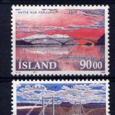Sellos: SELLOS NUEVOS DE ISLANDIA, YT 735/ 36. Lote 186228433