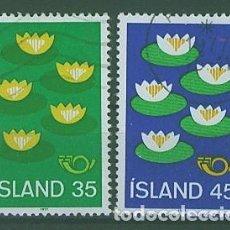 Sellos: SELLOS NUEVOS DE ISLANDIA, YT 473/ 74. Lote 186228548