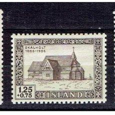 Sellos: SELLOS NUEVOS DE ISLANDIA, YT 258/ 60. Lote 186228606