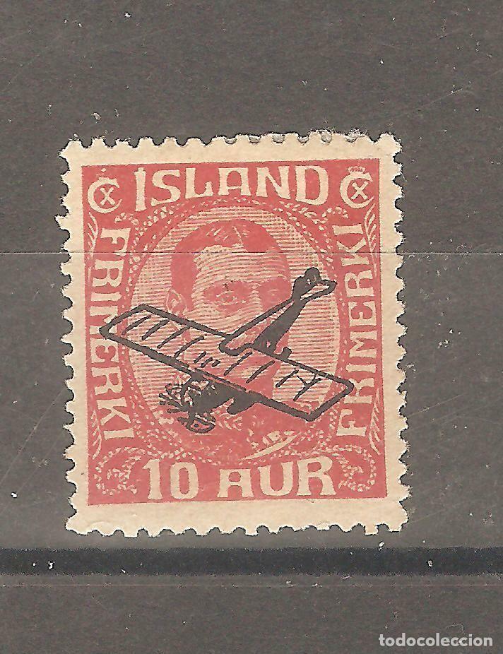 ISLANDIA,1 VALOR,1927, YT PA1,NUEVO,G.ORIGINAL,FIJASELLOS. (Sellos - Extranjero - Europa - Islandia)