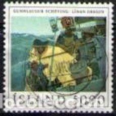 Sellos: SELLO USADO DE ISLANDIA, YT 525. Lote 188060578