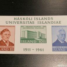 Sellos: ISLANDIA YVERT HB 3 NUEVO. Lote 191441055