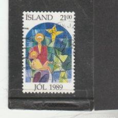 Sellos: ISLANDIA 1989 - YVERT NRO. 665 - USADO. Lote 191935536