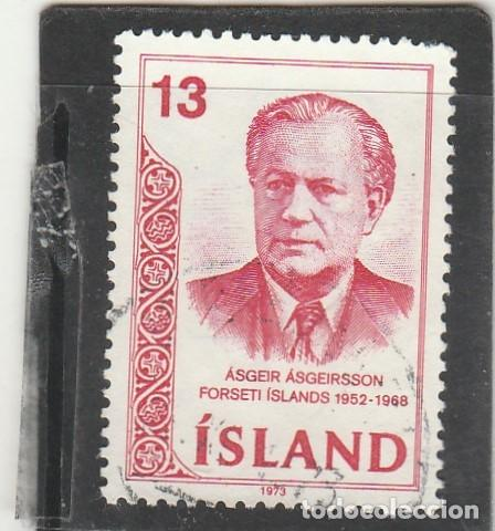 ISLANDIA 1973 - YVERT NRO. 433 - USADO (Sellos - Extranjero - Europa - Islandia)