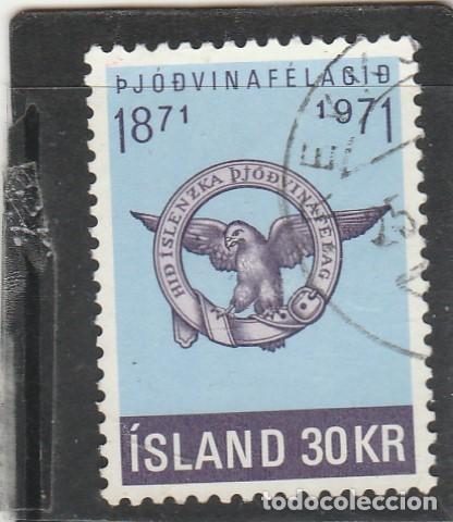 ISLANDIA 1971 - YVERT NRO. 408 - USADO (Sellos - Extranjero - Europa - Islandia)