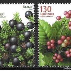 Sellos: SELLOS USADOS DE ISLANDIA 2005, YT 1065/ 66. Lote 192781198