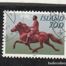 Sellos: ISLANDIA 1982 - YVERT NRO. 539 - USADO. Lote 193629852