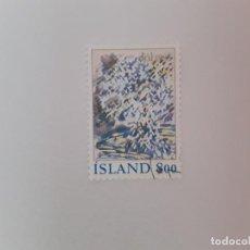 Timbres: ISLANDIA SELLO USADO. Lote 193727238