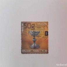 Timbres: ISLANDIA SELLO USADO. Lote 193727270
