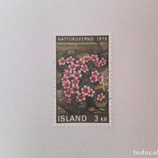 Timbres: ISLANDIA SELLO USADO. Lote 193727353