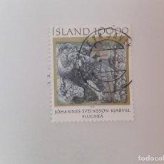 Timbres: ISLANDIA SELLO USADO. Lote 193727430