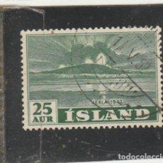 Sellos: ISLANDIA 1948 - YVERT NRO. 209 - USADO. Lote 195049998