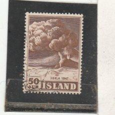 Sellos: ISLANDIA 1948 - YVERT NRO. 211 - USADO. Lote 195050027