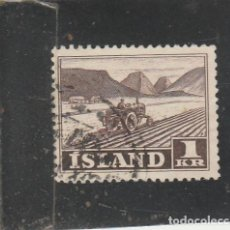 Sellos: ISLANDIA 1950 - YVERT NRO. 229 - USADO. Lote 195050246