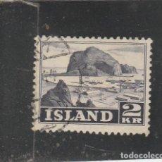 Sellos: ISLANDIA 1950 - YVERT NRO. 232 - USADO. Lote 195050318